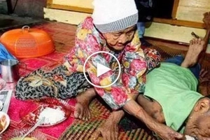 101-year-old woman takes care of her 63-year-old disabled son