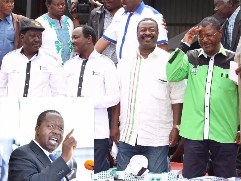 Matiangi declares raila s move to safeguard his votes illegal 16 days to the poll tuko co ke