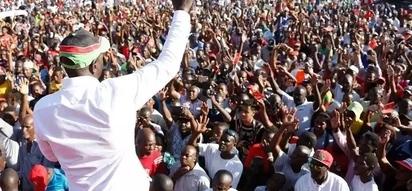 Mkutano wa William Ruto watawanyishwa na milio ya risasi!