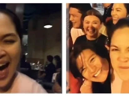 Ang cute niya malasing! Judy Ann Santos shared her video, allegedly drunk after watching the block screening of her latest movie