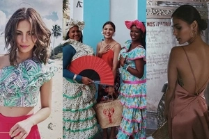 Bakasyon engrande! Lovi Poe shows off some skin and blends in beautifully in Cuba