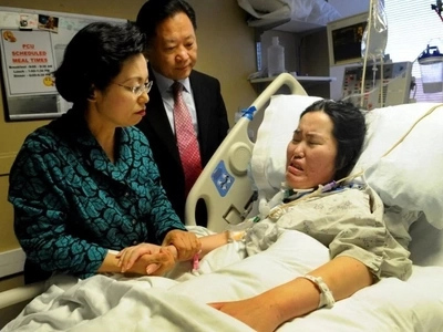 Estoy cansada de luchar: alegaba mujer paralizada con cáncer cerebral pero los padres se negaron a removerle sus tubos para respirar