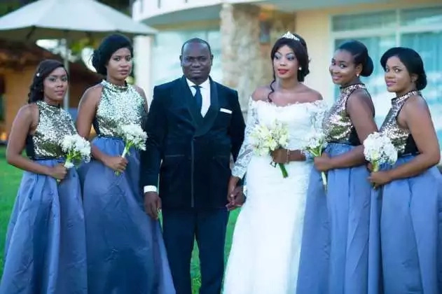 Kenyan millionaire weds best friends hours apart in LAVISH weddings