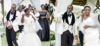 Leaked photos of former Mother-In-Law actress Celina's white wedding