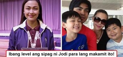 Kaya pala nagpursige siya nang sobra! Jodi Sta. Maria reveals reason why she pushed herself to the limits to become a Dean's lister in college