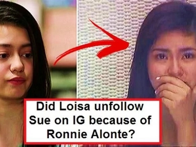 Sobrang awkward! Loisa Andalio looked nervous & confused while answering question about unfollowing Sue Ramirez on IG?!