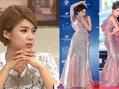 This Korean comedian gets real about posing on the red carpet in this viral video
