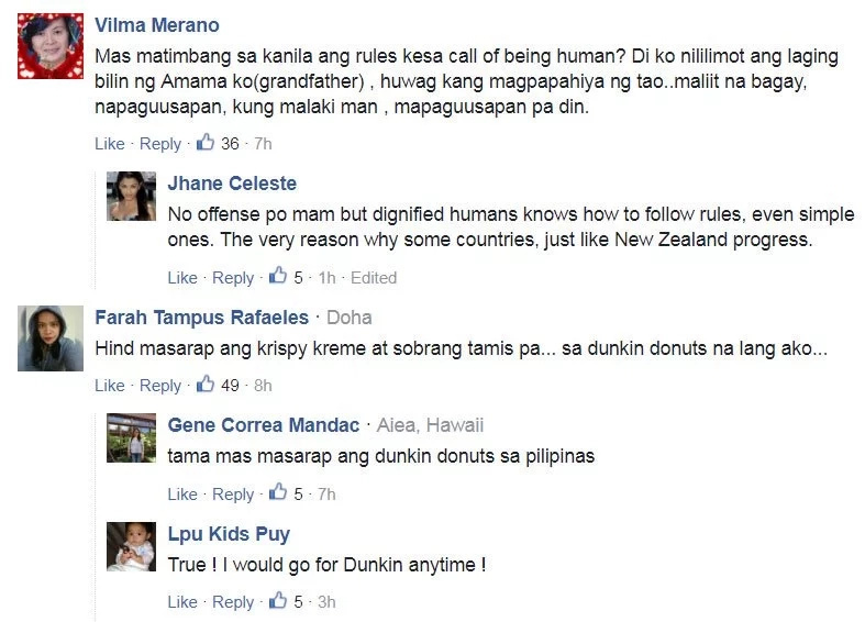 Netizens slam Krispy Kreme for alleged 'racist' attitude towards Pinay