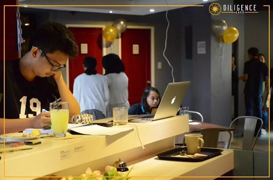 Quezon City cafe offers napping, showering services