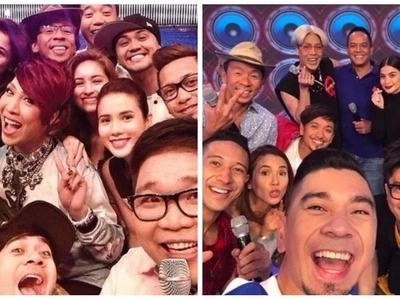 Nakaka-miss sila! Original hosts of 'It's Showtime' just had a mini reunion and fans got the feels