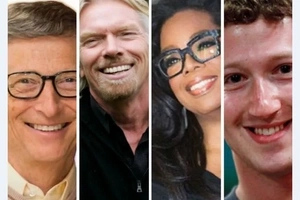 Four billionaires prove you don't need an 'A' to lead, or be wealthy!