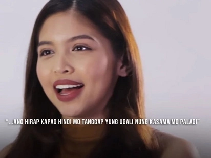 """It's not every day that you get to work and be with someone who accepts you for who you really are."" said Maine Mendoza about their relationship"
