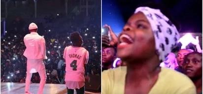 Ugandans invade Diamond Platnumz show demanding apology for cheating on Zari (Video)