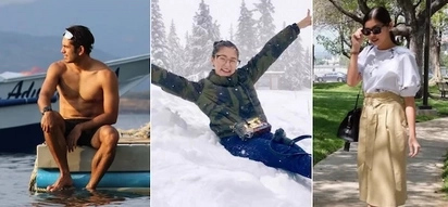 15 celebrities spending their Holy Week vacation