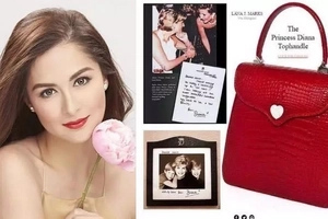 International levels talaga si Primetime Queen! Marian Rivera is the first ever Filipina to own exclusive Princess Diana bag