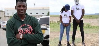 Huyu ndiye binti mrembo sana aliyeyeyusha moyo wa mchezaji wa Harambee Stars Michael Olunga
