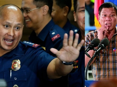 Bato declines answering question about where Duterte got P50K-P400K bonus for each PNP official