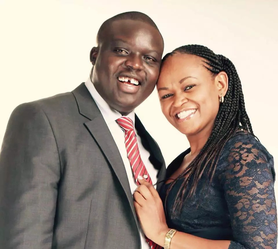 Radio presenter Syombua and husband Osiany celebrates 1st wedding anniversary