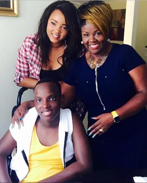 Photos of the Kiuna family setting family goals for Kenyans