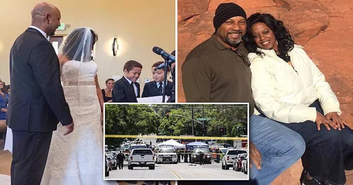 Man who opened fire on his estranged wife had been married to her for LESS than 3 months (photos, video)