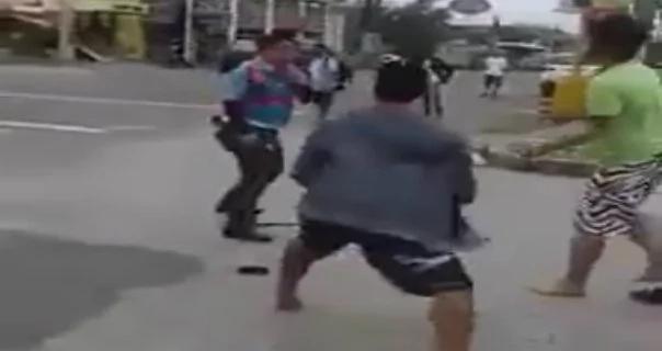 MMDA-fight
