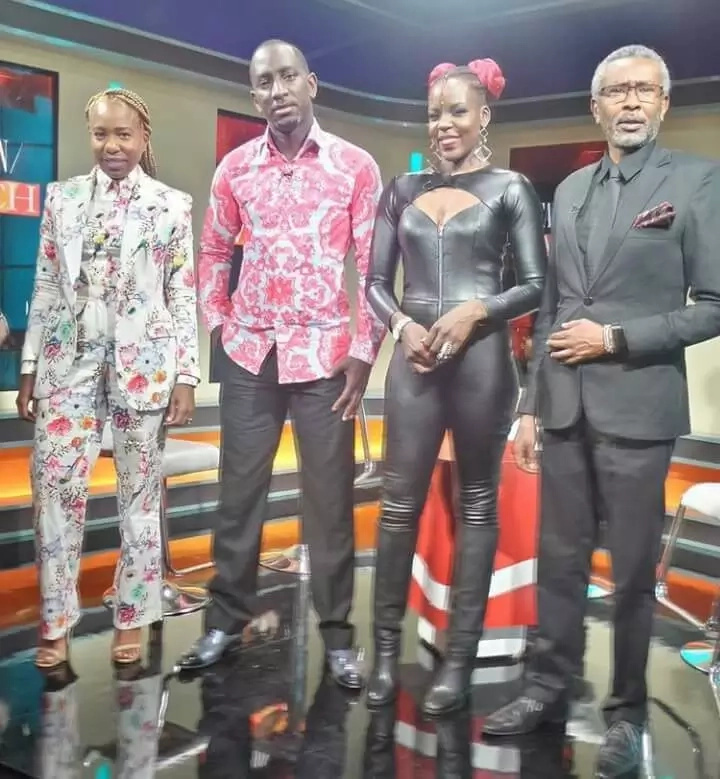 Former Citizen TV Fashion Watch panelist heavily pregnant... and a Sauti Sol crew member is responsible