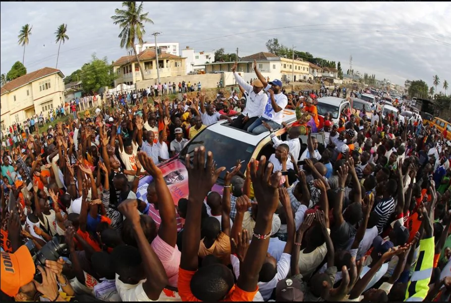 joho accuses DP Ruto of sending spies into NASA