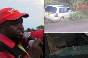 Another Jubilee politician reported missing ,car found dumped