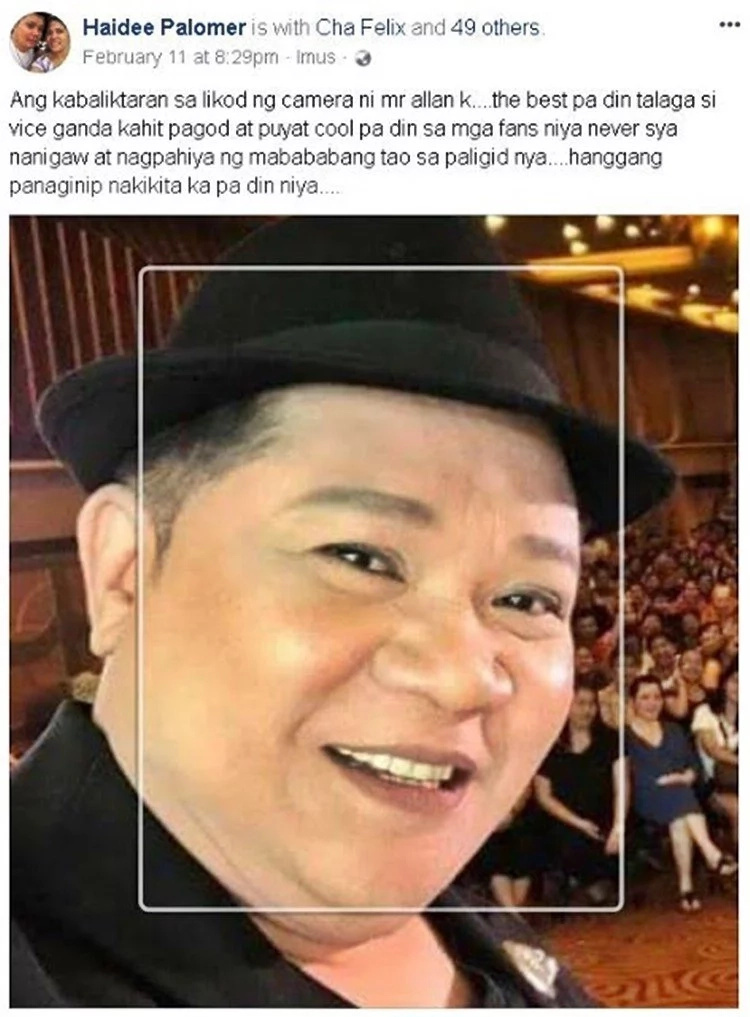 Allan K allegedly becomes rude to netizen's sibling who wants to take a picture with him
