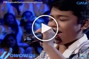 Willie Revillame recruits talented boy who belted out high notes on Wowowin