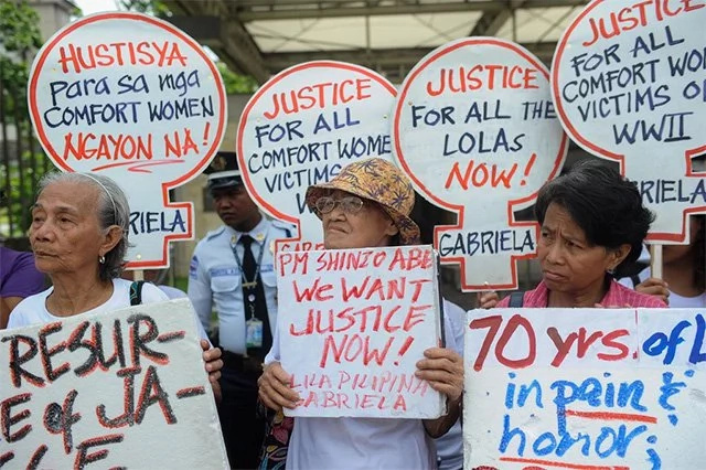 PH comfort women finally break their silence