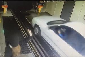 Elderly Driver Sped Through Car Wash At INSANE Speed (Video)