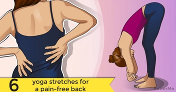 6 yoga stretches for a pain-free back