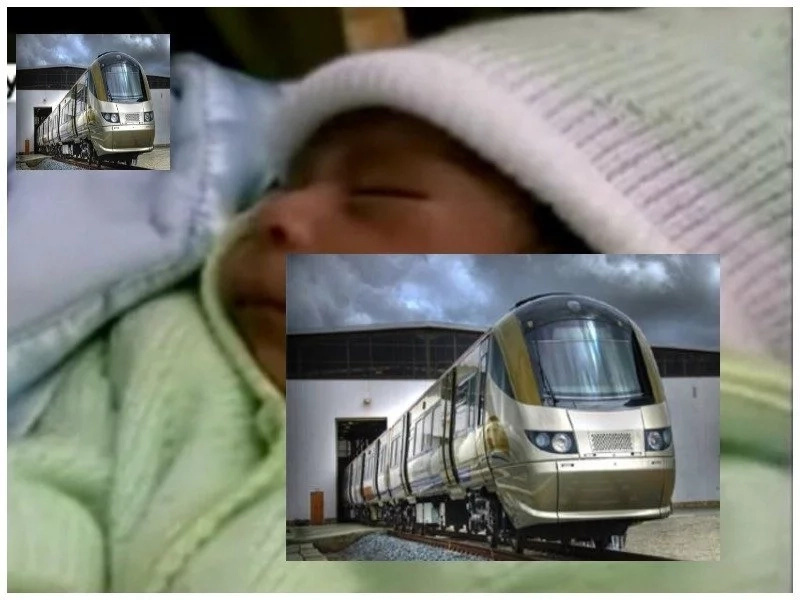 31-year-old brave lady suddenly goes into labour while at train station, then this happens (photos)