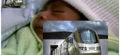 31-year-old woman suddenly goes into labour while at train station, then this happens (photos)