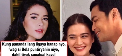 Hindi ka ba sang-ayon sa principles ni Nadine? Bela Padilla admits to being old-fashioned on relationships, says no to casual dating and the like