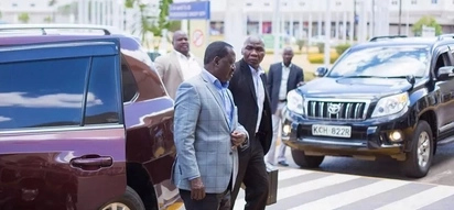 Raila flies out to attend funeral of longtime buddy and Zimbawe opposition leader, Morgan Tsvangirai
