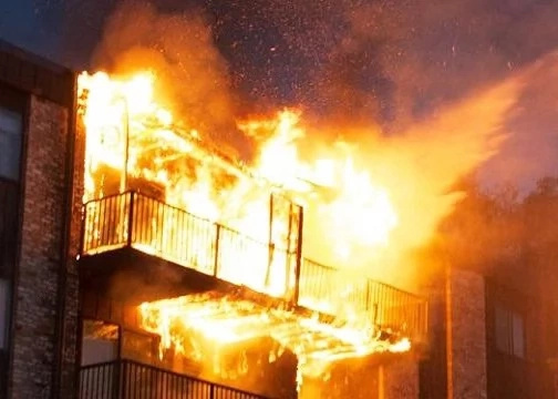MP's house burns in mysterious circumstances