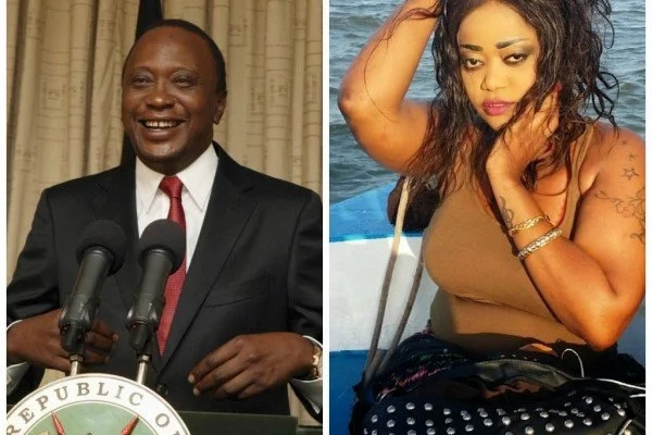 Celebrated Tanzanian songstress reveals her HEAVY CRUSH on Uhuru Kenyatta