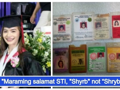 Anak ng OFW na laging mali-mali ang spelling ng pangalan sa ID, nagtapos bilang isang 'cumlaude'