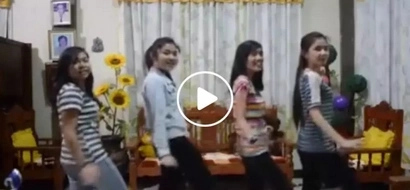 This is the most perfect thing you'll see on a bad day! Group of young girls make people fall in love with amazing angelic voices
