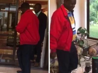 Raila avalia T-shirt inayofanana na ya Uhuru katika mahojiano Facebook na Wakenya washindwa kukimya (picha)