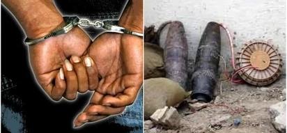 """Mwanafunzi wa chuo kikuu apatikana na """"BOMU"""" Nairobi (picha)"""