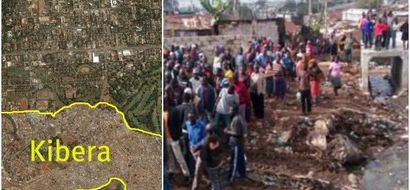 Tragedy after wall holding water collapses sweeping three away in Kibera