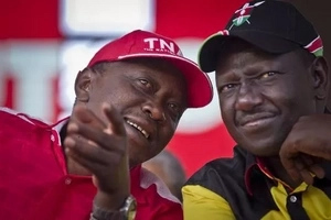 Uhuru leads, Raila trails in the final week of voter registration