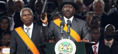 Raila not backing any one for president