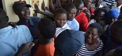Hali ya VUTA N'KUVUTE Kisumu kufuatia upungufu wa unga wa Ksh 90 (picha)