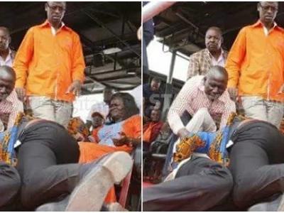 Baada ya kulimwa makonde hadharani, mbunge ageuka MCHESHI BUNGENI!