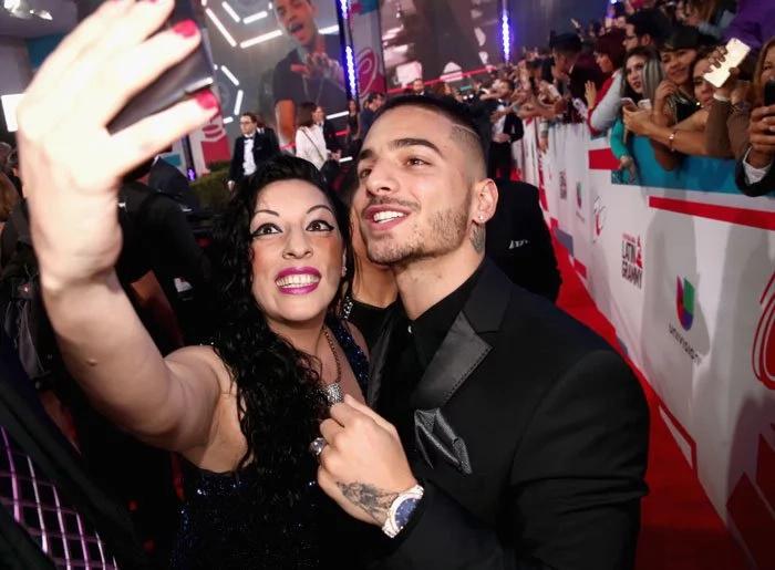 Maluma y la emoción que genera al saludar a sus fans