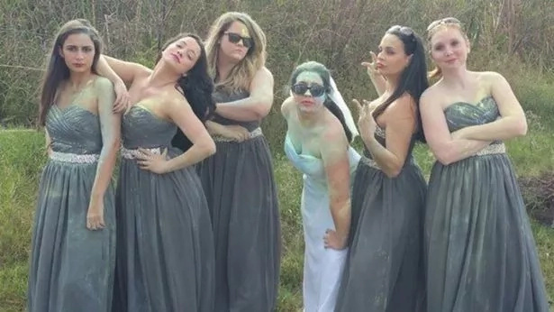 Bride on fire! Woman allows photographer to set ablaze her wedding dress in effort get unforgettable shot (photos)